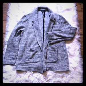 Topshop size 10 relaxed tee blazer
